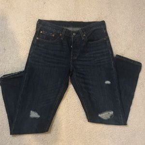 Levi's Distressed Jeans Size 26